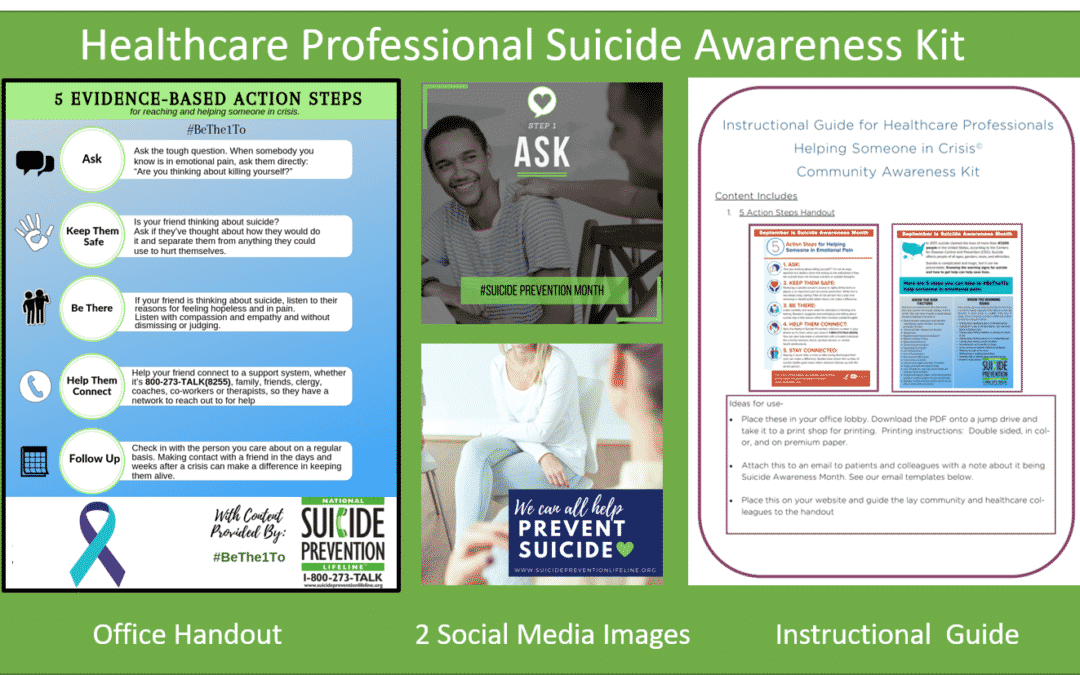 Helping someone in Crisis – Healthcare Professional Resources